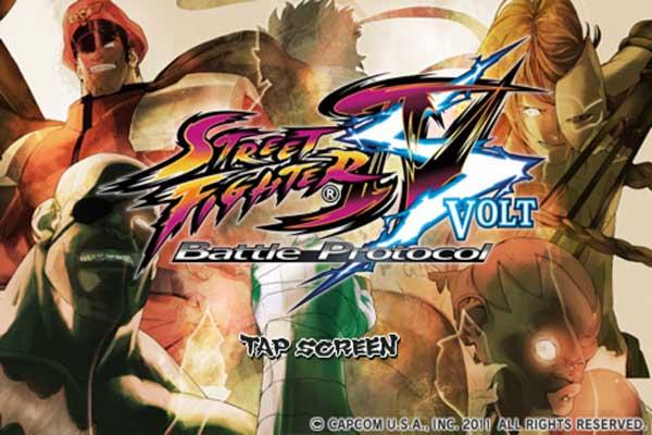 Street Fighter IV Volt, en iPhone y en iPad a precio reducido en estos días