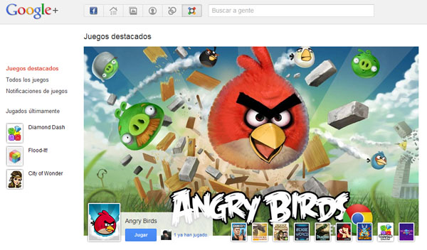 Angry Birds ya está disponible en Google+
