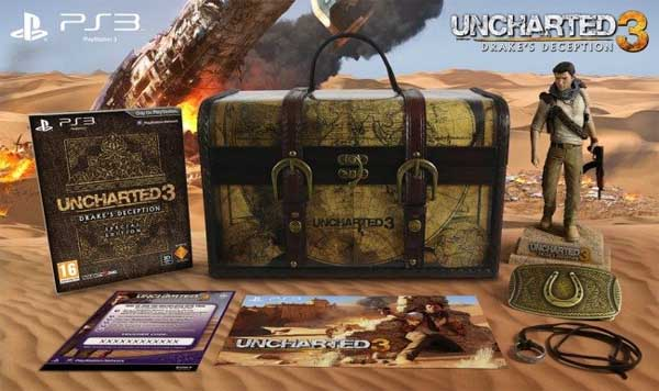 Uncharted 3 contará con la completa Explorer Edition