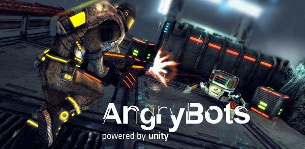 Angry Bots, descarga gratis para Android la demo de este nuevo juego de disparos
