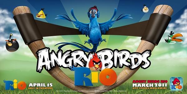 Angry Birds Rio, nuevos niveles para este juego de habilidad