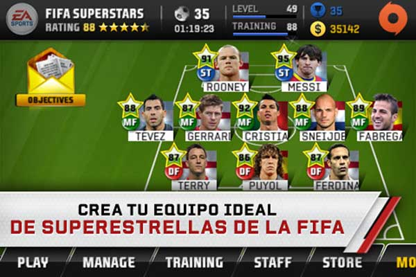 FIFA Superstars, descárgalo gratis en iPhone, iPad y iPod
