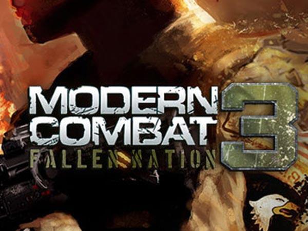 Modern Combat: Fallen Nation llegará a dispositivos Apple
