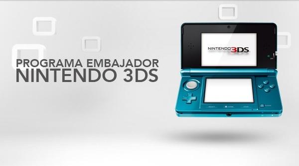Nintendo 3DS, nueva oportunidad para el programa embajador