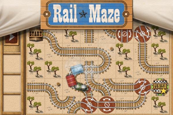 Rail Maze, descárgalo gratis para iPhone, iPod Touch y iPad
