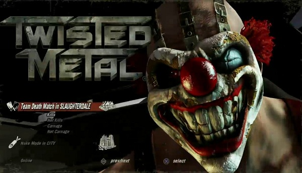 Twisted Metal, fecha oficial en Occidente