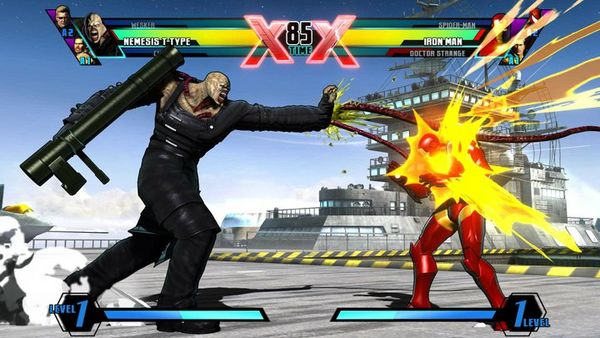 Ultimate Marvel vs Capcom 3, una hora llena de tortazos