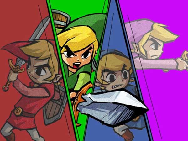 Zelda: Four Swords, juego gratis para la Nintendo 3DS