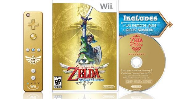 The Legend of Zelda: Skyward Sword, edición deluxe anunciada