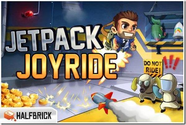 Jetpack Joyride, un nuevo juego para iPod, iPad y iPod Touch