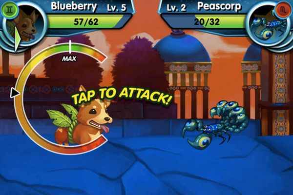 Monster Galaxy, gratis para iPhone este juego estilo Pokemon