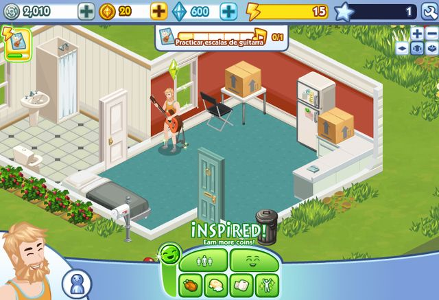 The Sims Social, trucos para ganar monedas y subir de nivel