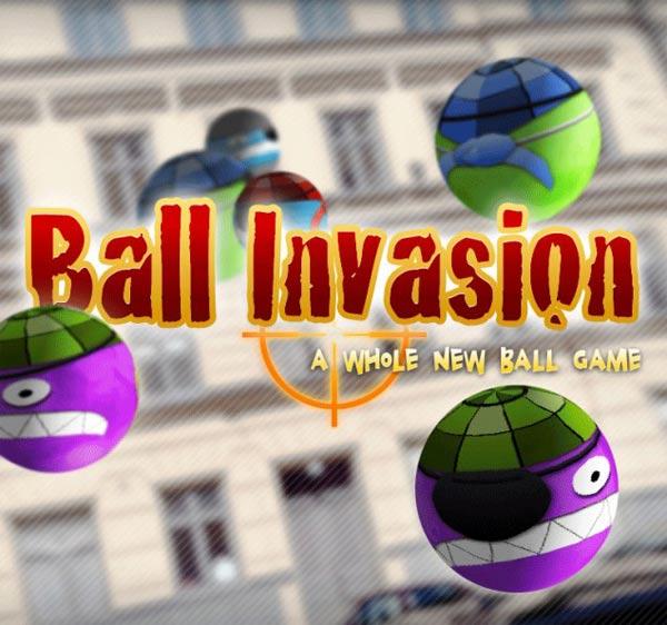 Ball Invasion, un juego de realidad aumentada para iPad