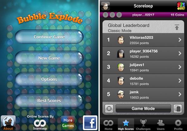 Bubble Explode, descarga gratis este juego de iPhone y iPad