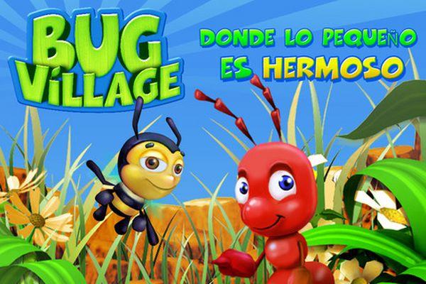Bug Village, llena tu teléfono de bichos con este juego gratis para iPhone