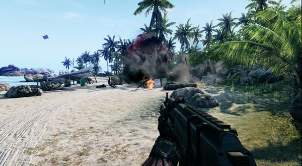 Crysis, primeras imágenes de su versión para Xbox 360 y PS3