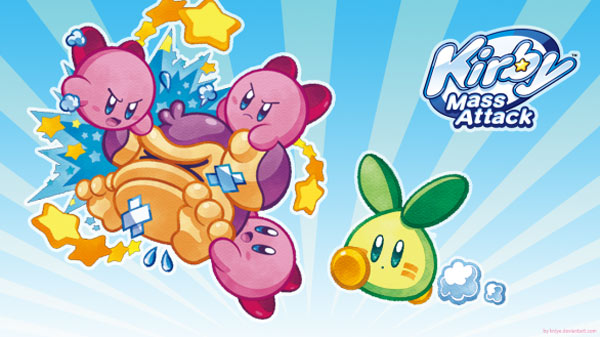 Kirby Mass Attack, dirige a una legión de Kirbys en la DS