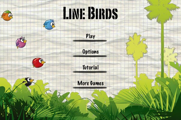 Line Birds, descarga gratis este juego para iPhone y iPad