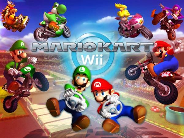 Mario Kart Wii, un pack con una Wii y un volante exclusivos