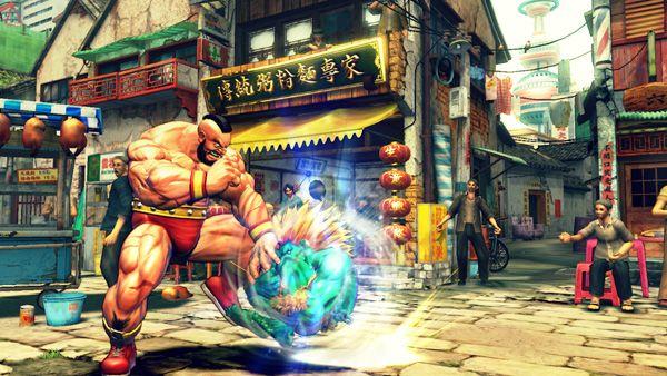 Street Fighter IV vendrá instalado en los móviles de LG