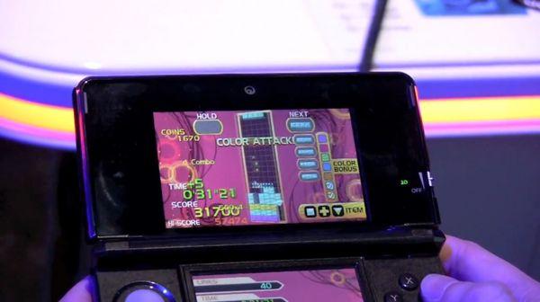 El Tetris ya tiene fecha de salida en Nintendo 3DS