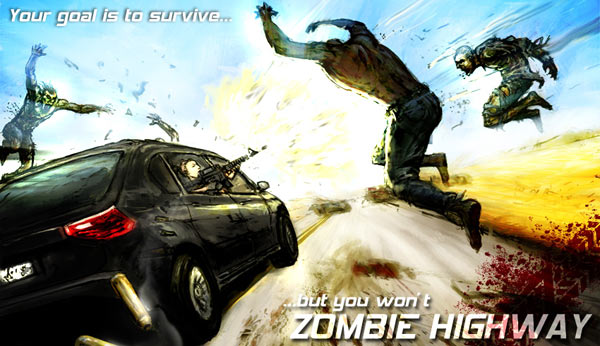 Zombie Highway, descarga gratis este juego para iPhone