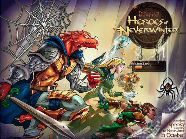 Dungeons and Dragons: Heroes of Neverwinter, nuevo juego de rol en Facebook