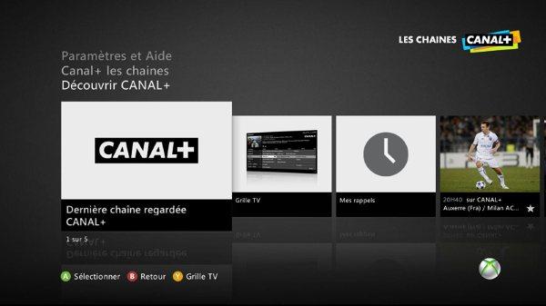 Los usuarios de Xbox 360 podrán ver Canal+ en sus consolas