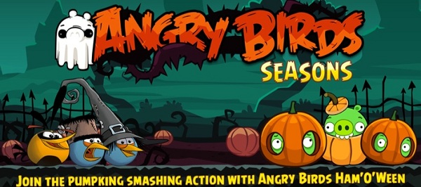 Angry Birds Seasons, descarga gratis su actualización de Halloween