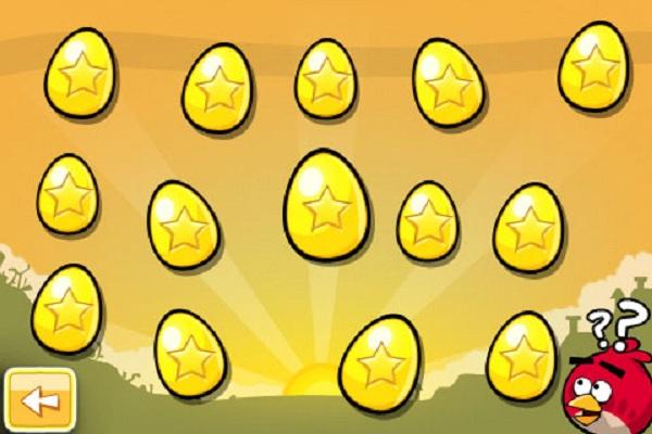 Trucos para Angry Birds, cómo conseguir todos los huevos dorados
