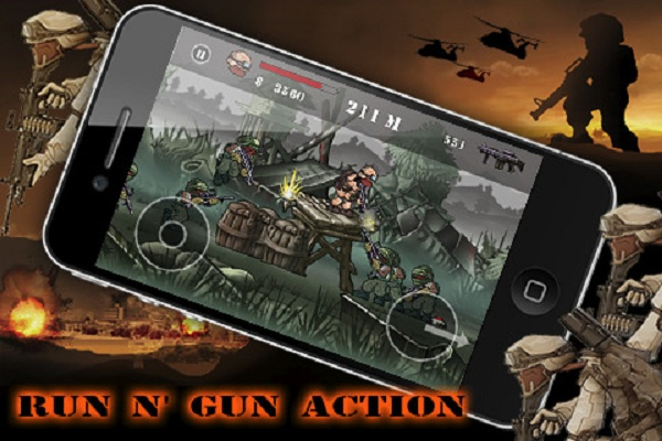 Desert Slug, juego arcade para iPhone totalmente gratis