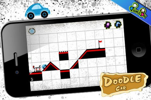 Doodle Car Plus, descarga gratis para iPhone este juego de coches
