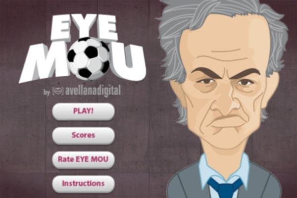 Eye-Mou, un juego en el que nos invitan a meter el dedo en el ojo de Mourinho