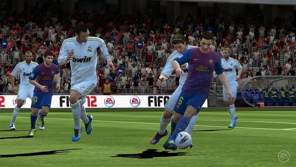 FIFA 12, primeras imágenes y nuevos detalles en PS Vita