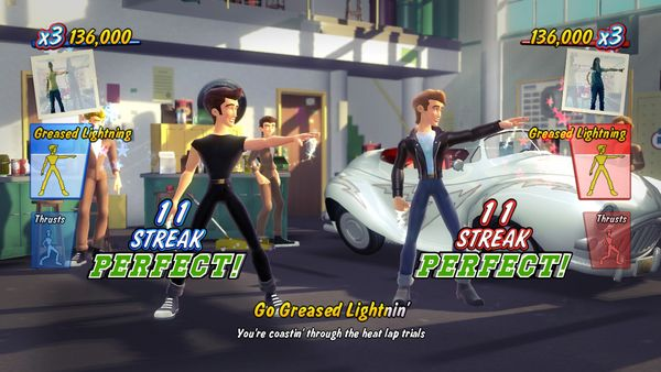 Grease: el videojuego, también para Xbox 360 y PS3