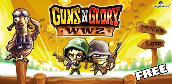 Guns'n'Glory WW2, descarga gratis este juego de estrategia para Android