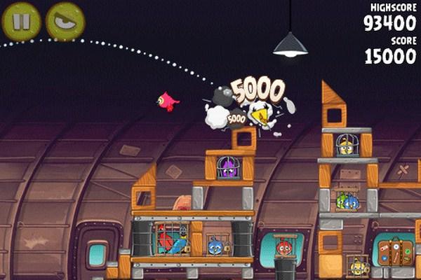 Angry Birds Rio, nuevo capítulo con 15 nuevos niveles