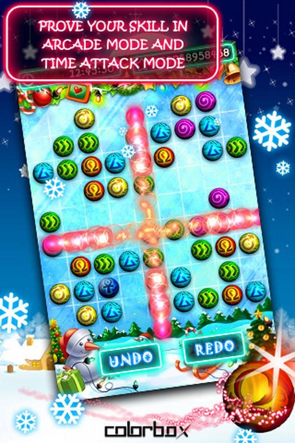 Christmas Buzzle, descarga gratis este juego tipo Puzle para iPhone