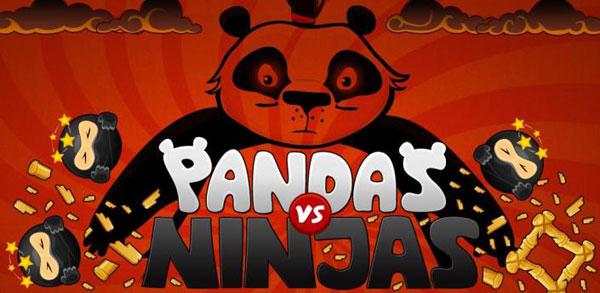 Pandas vs Ninjas, descarga gratis este juego para Android