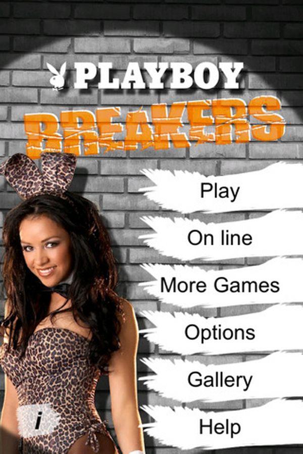 PlayboyBreaker, conejitas Playboy en este juego para iPhone