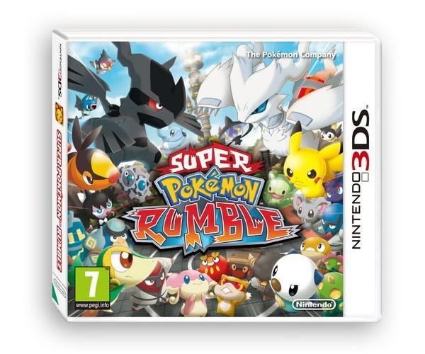 Super Pokémon Rumble, los Pokémon se estrenan en las 3D