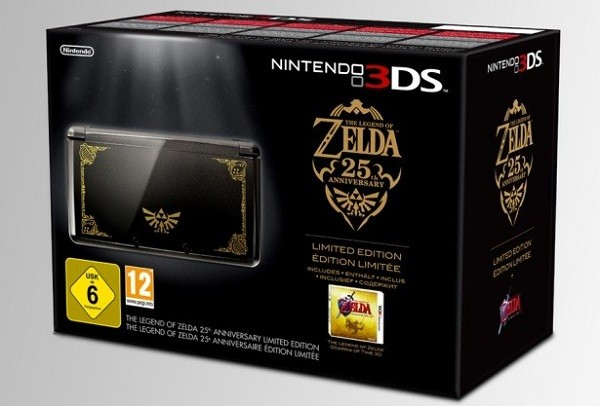 The Legend of Zelda, edición coleccionista para Nintendo 3DS