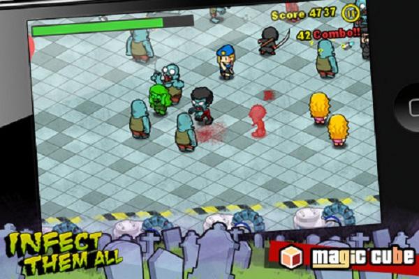 Infect them all, nuevo juego de zombis para iPhone y iPad