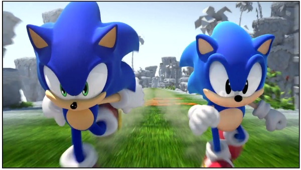 Sonic Generations, trailer de lanzamiento del nuevo juego de Sonic