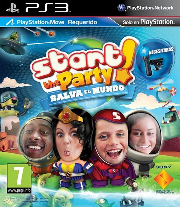 Start the Party! Salva el mundo, minijuegos y diversión para PS Move