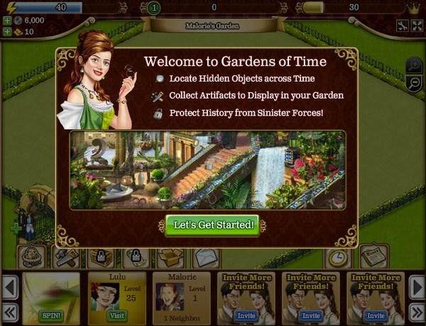 Gardens of Time encabeza los 10 juegos más populares de Facebook en 2011