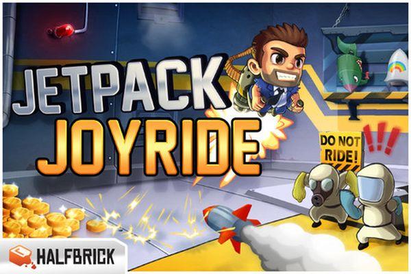 Jetpack Joyride, descarga gratis este juego de disparos para iPhone