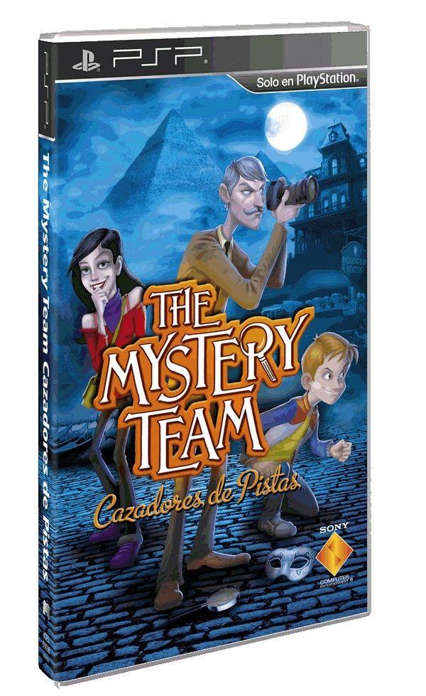 The Mystery Team, ya a la venta este juego de investigación para PSP