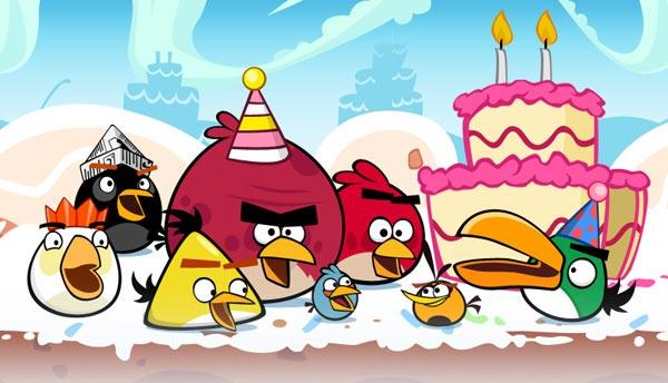 Angry Birds cumple dos años y lo celebra con 15 nuevos niveles