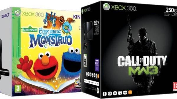 Xbox 360, Microsoft anuncia nuevos packs de consola para Navidad